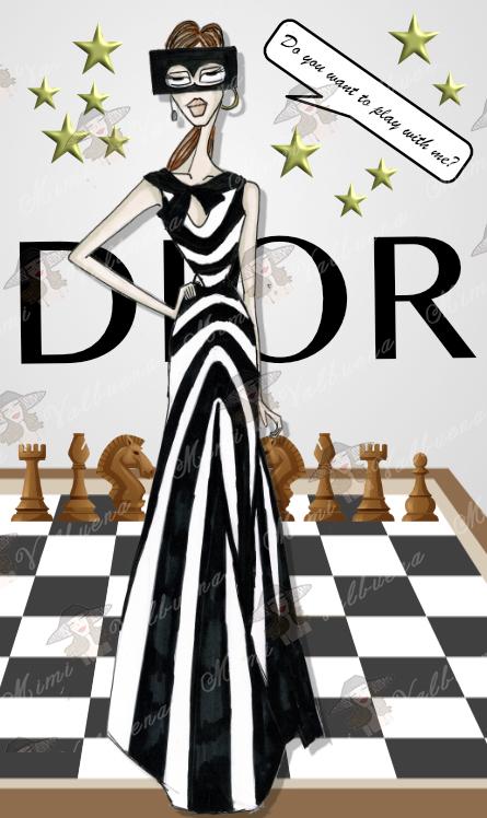 inspiración desfile Dior